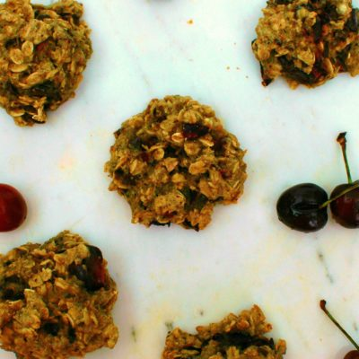Cherry Chocolate Breakfast Cookies
