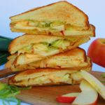 Gouda, Leek, and Apple Grilled Cheese