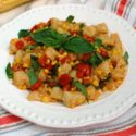 Summer Gnocchi with Corn and Tomatoes