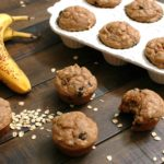 Banana Almond Butter Muffins