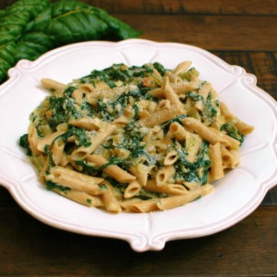 Swiss Chard and Parmesan Pasta