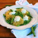 Pasta with Ricotta and Peas