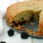 Blackberry Olive Oil Cake