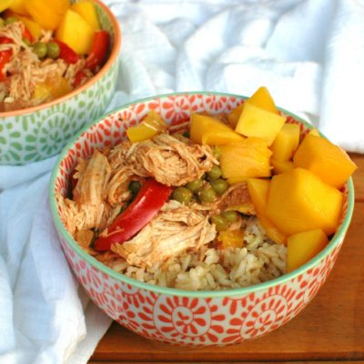 Crockpot Mango Chicken Curry