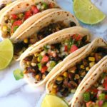 Portobello Black Bean Tacos