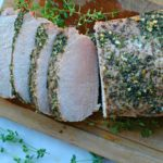 Garlic and Herb Roasted Pork Loin