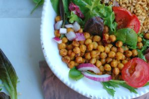 Chickpea Farro Shawarma Bowls || For the Love of Gourmet