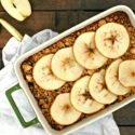 Apple Cider Baked Oatmeal