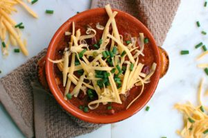 Crock Pot Three-Bean Chili || For the Love of Gourmet