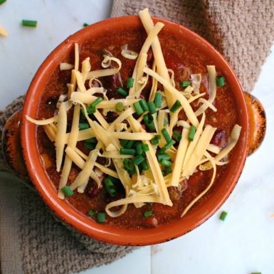 Crock Pot Three Bean Chili