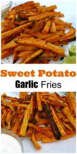 Sweet Potato Garlic Fries || For the Love of Gourmet