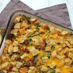 Asparagus and Bacon Strata