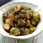 Balsamic Bacon Roasted Brussels Sprouts