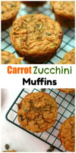 Carrot Zucchini Muffins || For the Love of Gourmet