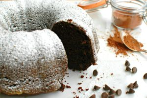 Double Chocolate Bundt Cake || For the Love of Gourmet