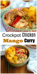 Crockpot Chicken Mango Curry || For the Love of Gourmet