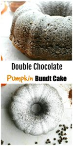 Double Chocolate Pumpkin Bundt Cake || For the Love of Gourmet
