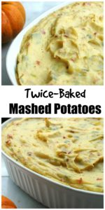 Twice-Baked Mashed Potatoes || For the Love of Gourmet