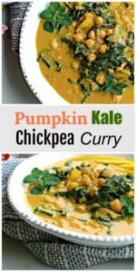 Pumpkin, Kale, and Chickpea Curry || For the Love of Gourmet
