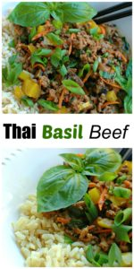 Thai Basil Beef || For the Love of Gourmet