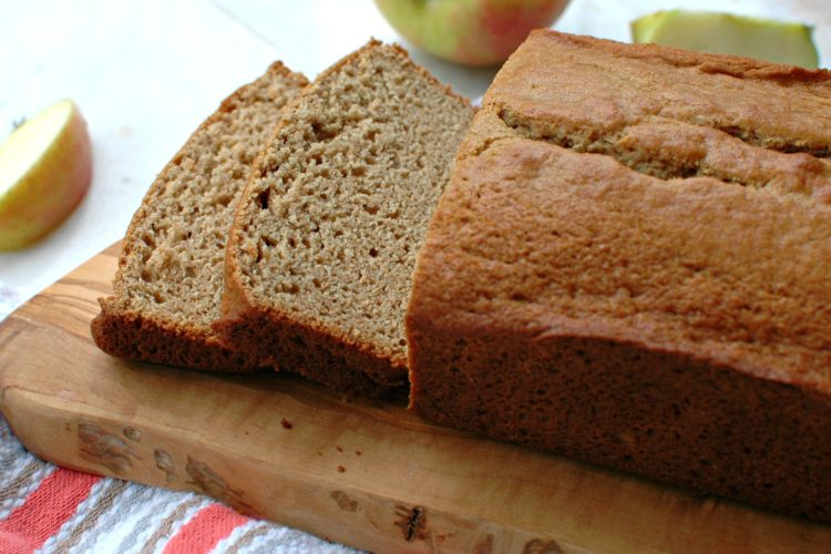 Whole Wheat Applesauce Bread