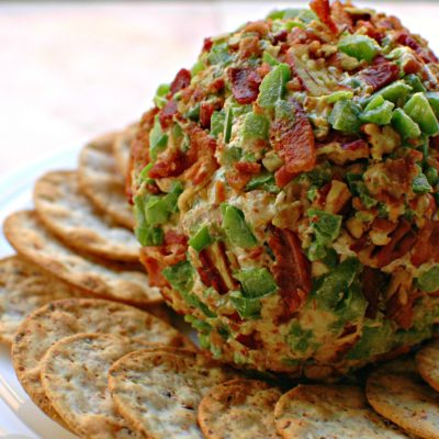Bacon Jalapeno Cheese Ball