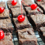 Maraschino Cherry Chocolate Chip Brownies